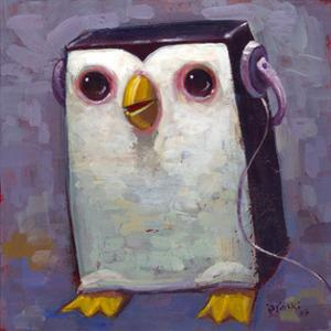 Hip Hopenguin III by Aaron Jasinski