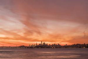 Skyline Sunset by Aaron Matheson