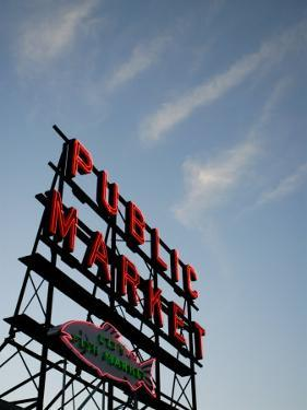 Seattle's Pike Place Market, a Place to Buy Fresh Meat, Fish, Seattle by Aaron McCoy