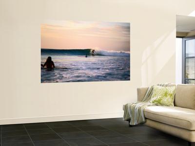 Surfing at Avellanas Beach, Nicoya Peninsula