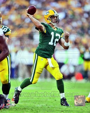 Aaron Rodgers 2012 Action