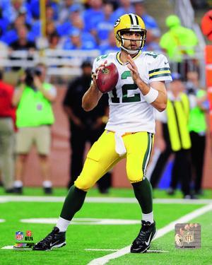 Aaron Rodgers 2014 Action