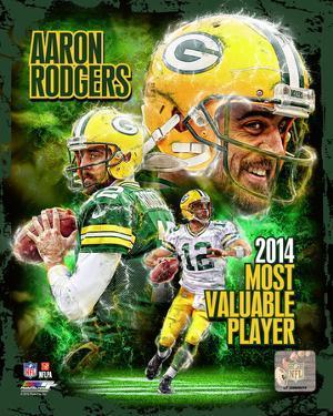 Aaron Rodgers 2014 NFL MVP Composite
