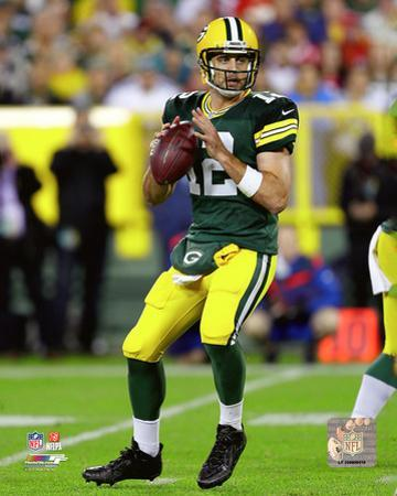 Aaron Rodgers 2015 Action