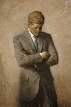 JFK by Aaron Shikler