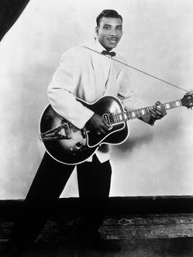 Aaron Thibeaux Walker Dit T-Bone Walker (1910-1975) Blues Guitarist, 40'S