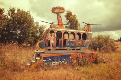 Abandoned Helicopter by Abandon.Dk