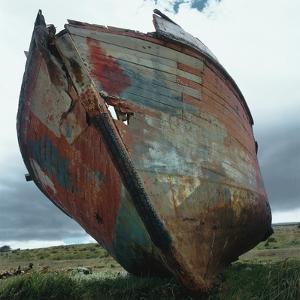 Abandoned Boat Hull