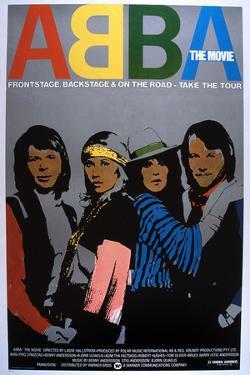 Abba: the Movie, Poster, Abba, 1977