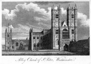 Abbey Church of St Peter, Westminster, London, 1805