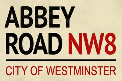Abbey Road NW8 Street Sign Plastic Sign