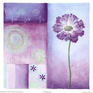 Poppy Blues I by Abbi Brown