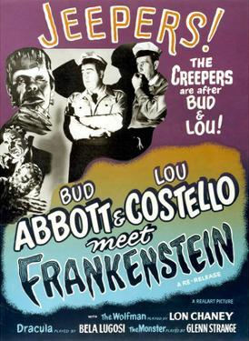 Abbott And Costello Meet Frankenstein, 1948
