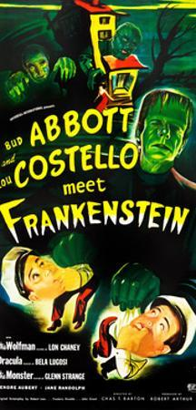 Abbott and Costello Meet Frankenstein, (AKA Bud Abbott and Lou Costello Meet Frankenstein)