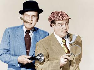 ABBOTT AND COSTELLO MEET THE INVISIBLE MAN, from left: Bud Abbott, Lou Costello