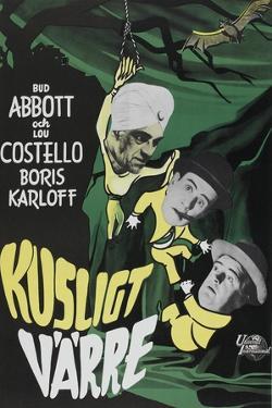 Abbott and Costello Meet the Killer