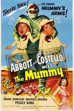 Abbott And Costello Meet the Mummy, 1955, Directed by Charles Lamont