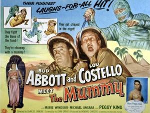 Abbott And Costello Meet the Mummy, Lou Costello, Bud Abbott, 1955
