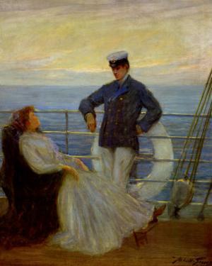Flirtation by Abbott Fuller Graves