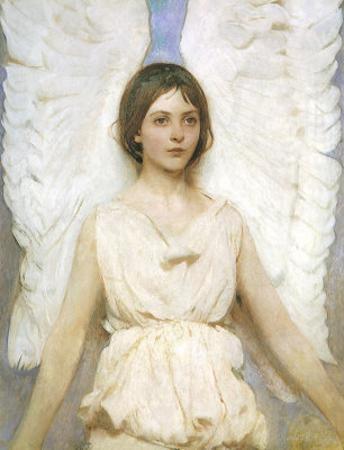 Angel, 1889 by Abbott Handerson Thayer
