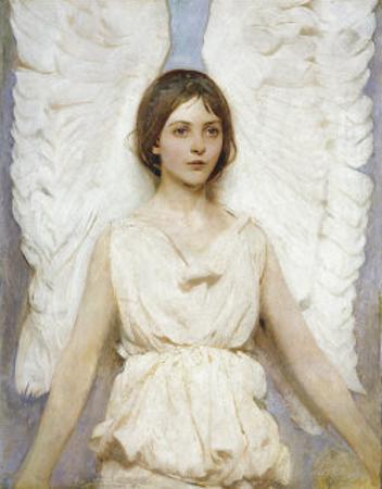 Angel by Abbott Handerson Thayer