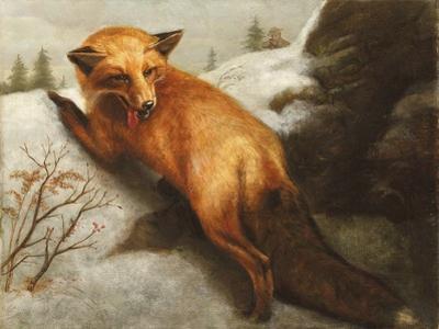 The Red Fox, 1870 by Abbott Handerson Thayer