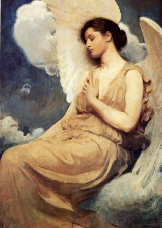 Winged Figure by Abbott Handerson Thayer