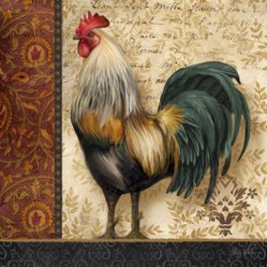 French Rooster I by Abby White