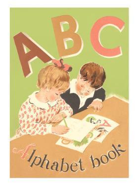 ABC Alphabet Book Cover