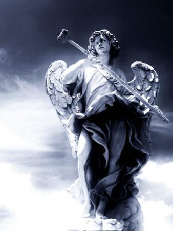 Angel Statue in the Clouds by Abdul Kadir Audah