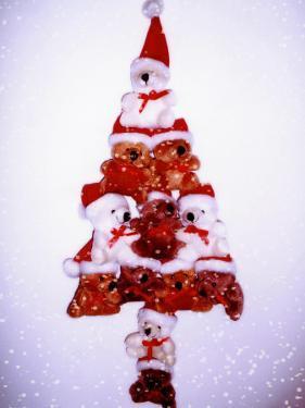 Christmas Tree Made from Teddy Bears by Abdul Kadir Audah