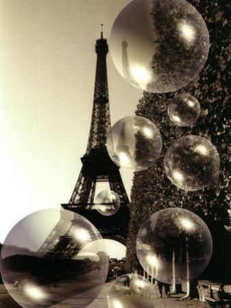 The Eiffel Tower with Bubbles by Abdul Kadir Audah