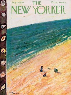 The New Yorker Cover - August 18, 1956 by Abe Birnbaum