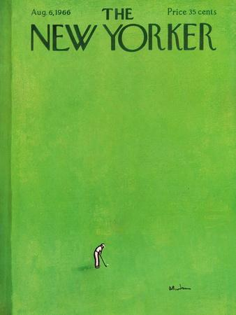The New Yorker Cover - August 6, 1966