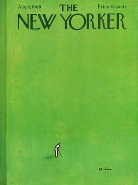 The New Yorker Cover - August 6, 1966 by Abe Birnbaum