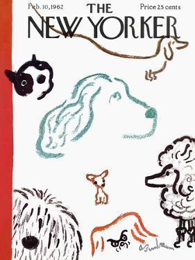 The New Yorker Cover - February 10, 1962 by Abe Birnbaum