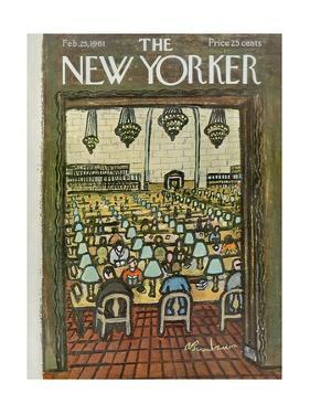 The New Yorker Cover - February 25, 1961 by Abe Birnbaum