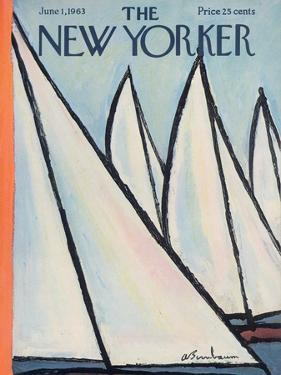 The New Yorker Cover - June 1, 1963 by Abe Birnbaum