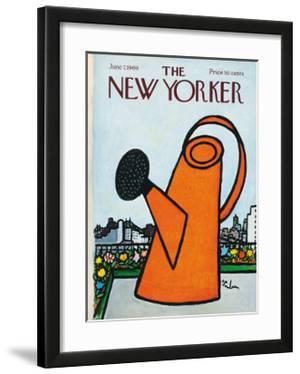 The New Yorker Cover - June 7, 1969 by Abe Birnbaum