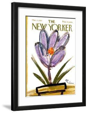 The New Yorker Cover - March 25, 1967 by Abe Birnbaum