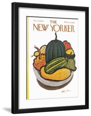 The New Yorker Cover - November 29, 1969 by Abe Birnbaum