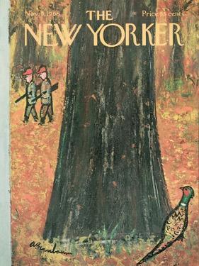 The New Yorker Cover - November 5, 1966 by Abe Birnbaum