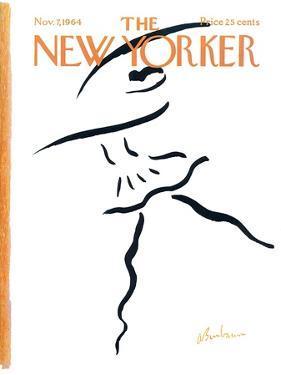 The New Yorker Cover - November 7, 1964 by Abe Birnbaum
