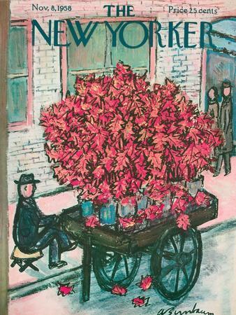 The New Yorker Cover - November 8, 1958