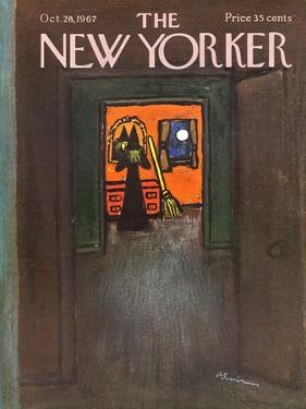 The New Yorker Cover - October 28, 1967 by Abe Birnbaum