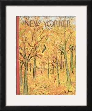 The New Yorker Cover - October 8, 1955 by Abe Birnbaum