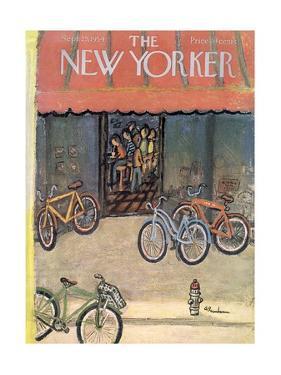 The New Yorker Cover - September 25, 1954 by Abe Birnbaum