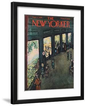 The New Yorker Cover - September 27, 1958 by Abe Birnbaum