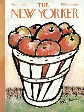 The New Yorker Cover - September 30, 1967 by Abe Birnbaum