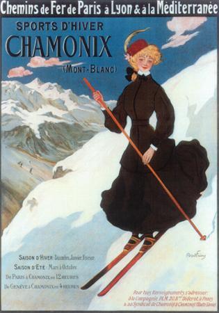 Chamonix, Sports d`Hiver by Abel Faivre